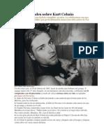 44 Curiosidades Sobre Kurt Cobain
