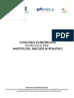 Ue-Institutii, Decizii Si Politici