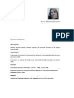Vera Marina Rexach Cv Marzo2014