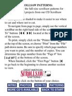 Great American Scrollsaw Patterns Vol. 1