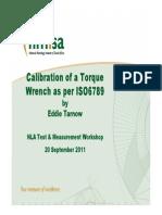 Torque Wrench Calibration Presentation