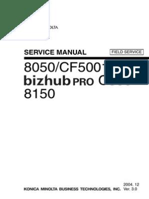 Bizhub Pro C500 Field Sm Uk Ac Power Plugs And Sockets