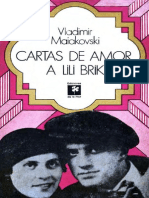 Maiakovski, Vladimir - Cartas de Amor a Lili Brik