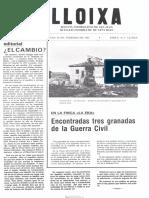 LLOIXA. Número 44, febrero/febrer 1985. Butlletí informatiu de Sant Joan. Boletín informativo de Sant Joan. Autor