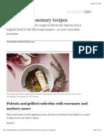 10 Best Rosemary Recipes