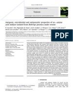 Antigenic, Microbicidal and Antiparasitic Properties of an L-Amino