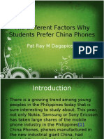 The Different Factors Why Students Prefer China Phones