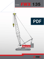 ERKE Group, FUWA FWX135 Crawler Crane Catalog