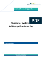Vancouver System Reference