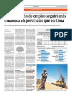 Generación empleo más dinámica en provincias que en Lima_Gestión_12-03-2014