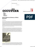 How to Infiltrate and Destroy a Political Movement _ Portland Occupier