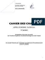 Cahier Charge