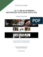 Vauchelle - Les musées à l'ère du numérique diffusion des collections sur le Web