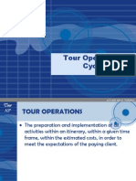 Tour Operations Cycle