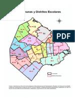 Comunas y Distritos Escolares