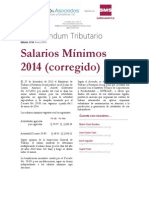 2-14 Salararios minimos