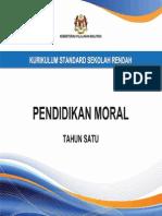 Dokumen Standard Pendidikan Moral Tahun 1