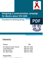 Assignment on Designing a Communication Campaign for Mexico About HIV