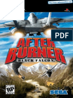 After Burner - Black Falcon - Manual - PSP