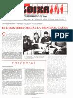 LLOIXA. Número 52, abril 1986. Butlletí informatiu de Sant Joan. Boletín informativo de Sant Joan. Autor