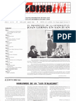 LLOIXA. Número 54, julio/juliol, 1986. Butlletí Informatiu de Sant Joan. Boletín informativo de Sant Joan.  Autor