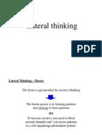 Creativity - Lateral Thinking