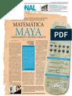 Matemática Maya, conocimiento científico vigente