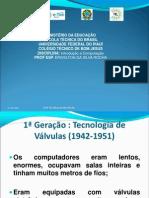01 - Int. Computação - AS CINCOS GERAÇÕES