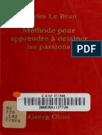 59135884 Methode Pour Apprendre a Dessiner Les Passions Charles Le Brun