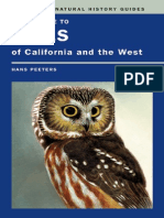 Field Guide to Owls of California and the Westby Hans J. Peeters
