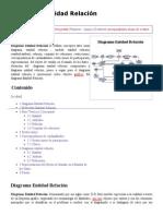 Diagrama Entidad Relación - EcuRed
