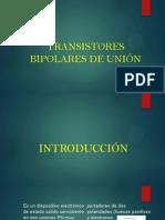 TRANSISTORES BIPOLARES DE UNIÓN