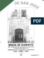 ECOS DE SAN JOSE nº 4 Especial Bodas de Diamante.