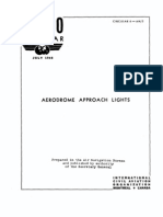 Aerodrome Approach Lights