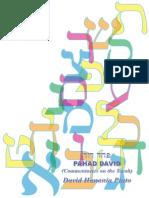 Pahad David - Commentaries on the Torah