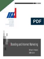 E-Branding Presentation Prof Holstein