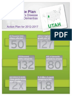 Utah Alzheimers Action Plan, 2012-17