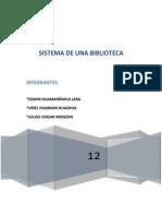 Diagrama de Base de Datos...Proy Biblioteca