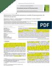 Optimization of Formulation and Process Variable of Nanosuspension
