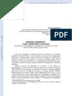 Berbères berbérité noms territoires identités   Considérations anthropologiques, lexicologiques et onomastiques en suivant Germaine Tillion (2000) et quelques autres