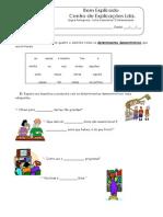 3 - Ficha Gramatical - O Determinante (2) (1)