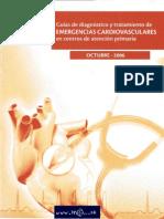 Guías de diagnóstico y tratamiento de EMERGENCIAS CARDIOVASCUlARES en centros de atención primari