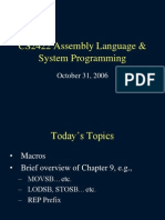 Assembly Language & System Programming=Week08a