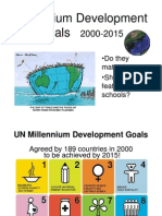 Millennium Development Goals Q&A 11 08