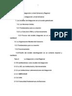 60511667 Unidad 4 La Integracion a Nivel Universal y Regional