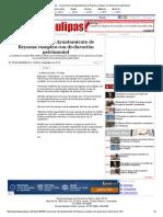 11-03-2014 ' Funcionarios del Ayuntamiento de Reynosa cumplen con declaración patrimonial'.