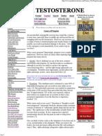 Causes of Priapism