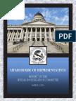 Final House Report - John Swallow investigation