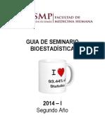 Guia de Seminario Bioestadistica 2014