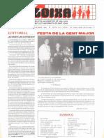 LLOIXA. Número 58, diciembre/desembre, 1986. Butlletí informatiu de Sant Joan. Boletín informativo de Sant Joan. Autor